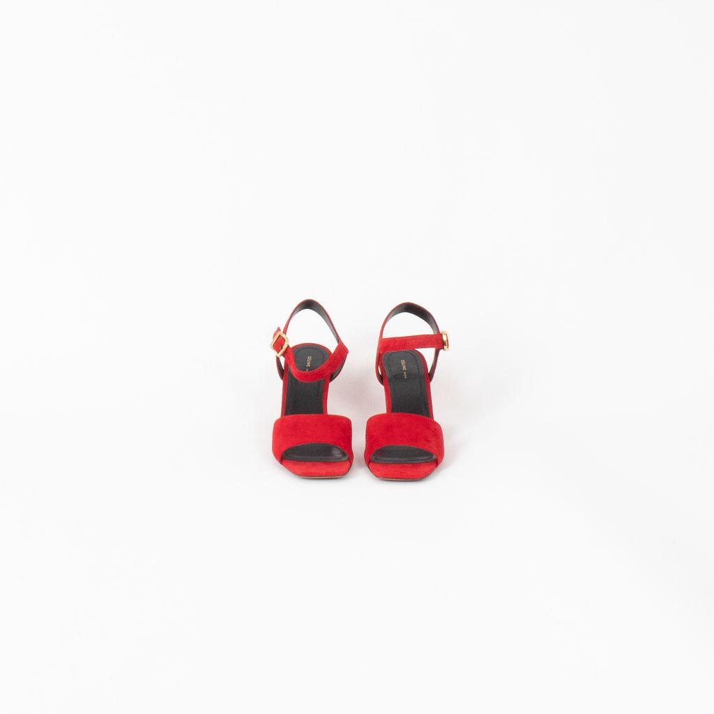 Céline Mid Heel Sandal