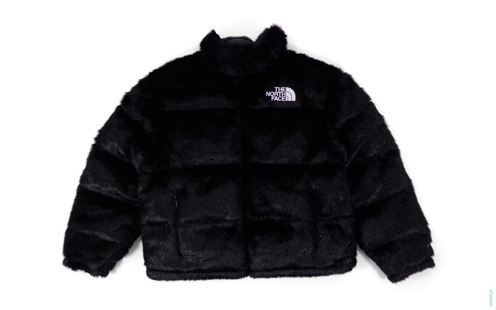 Supreme Faux Fur Nuptse Jacket