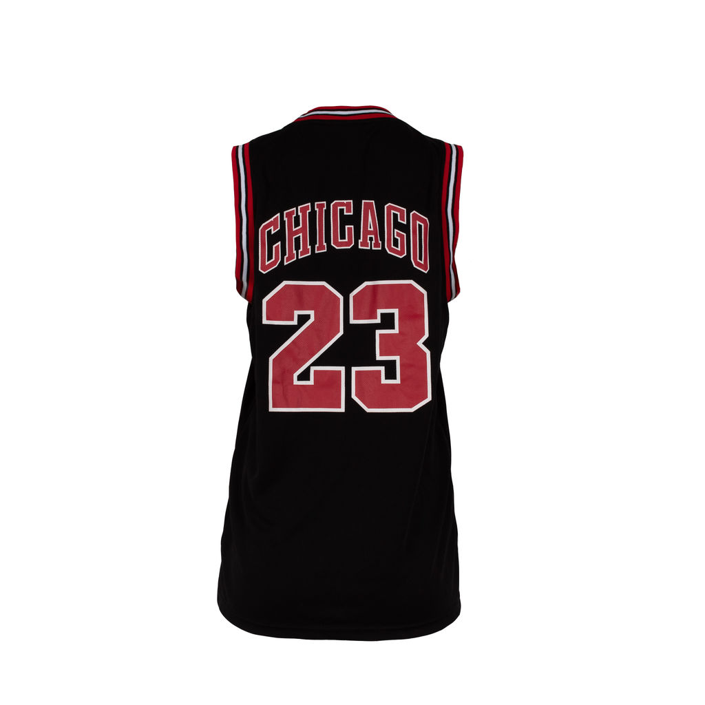 Bootleg Chicago Bulls Jersey in Black