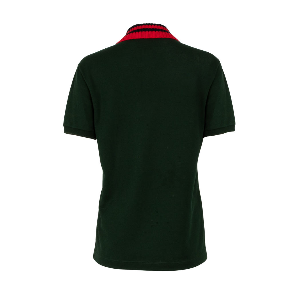 Gucci Knit Collar Polo