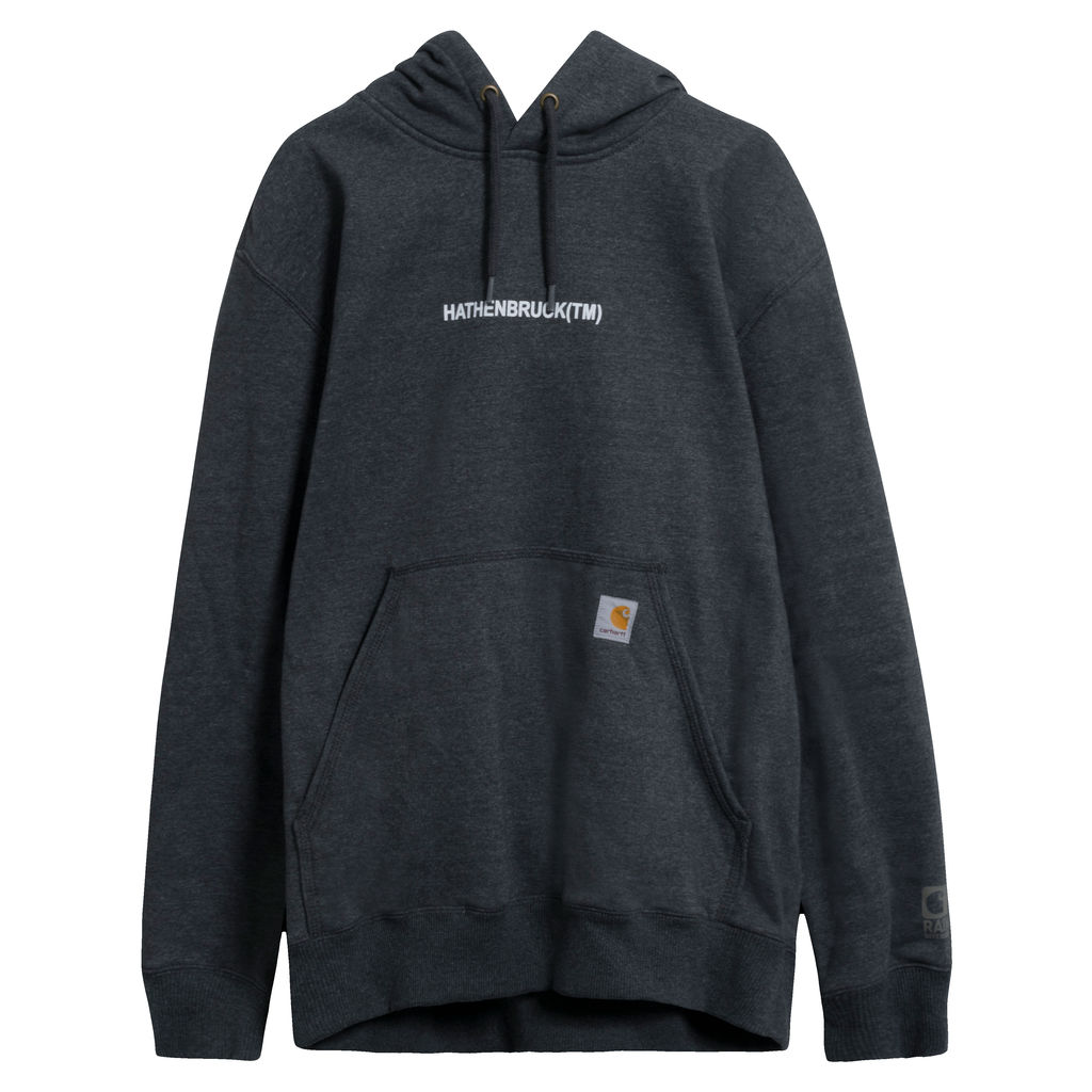 Carhartt x Nike Hathenbruck Charcoal Hoodie