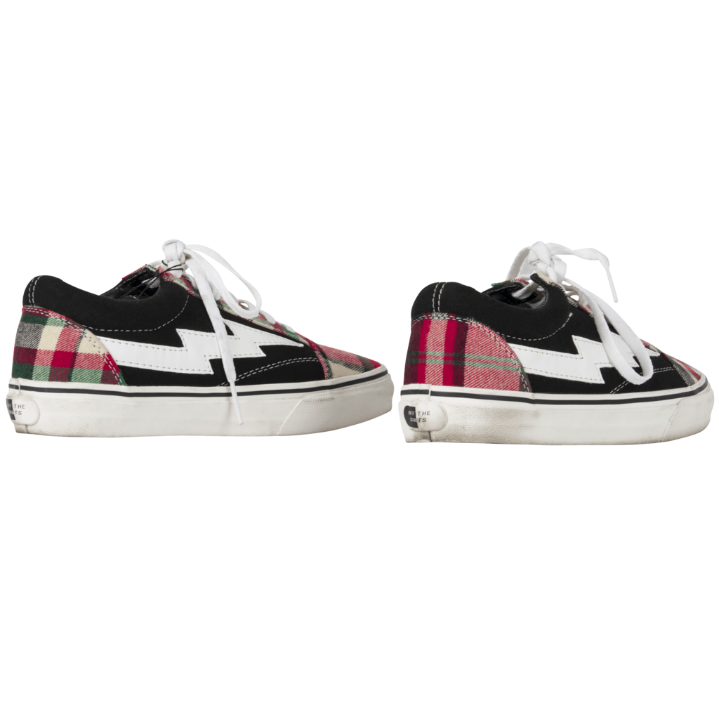 Revenge X Storm Plaid Sneakers