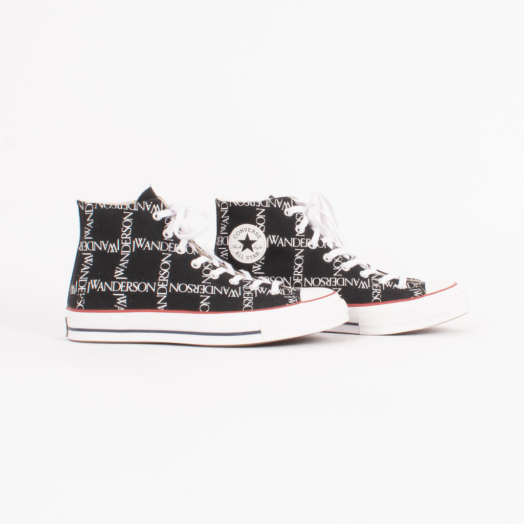 Converse x JW Anderson Logo Grid Chuck Taylor High Top Sneakers