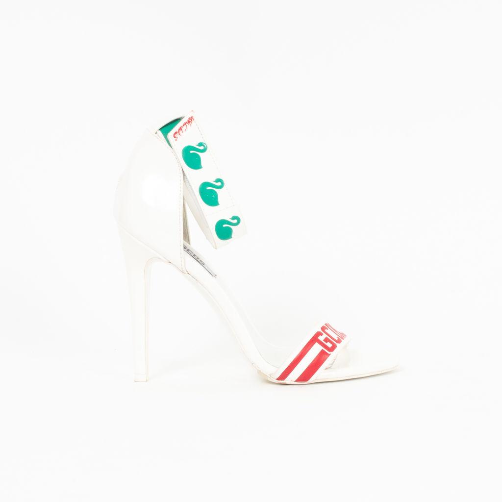 GCDS Ankle Strap Heels