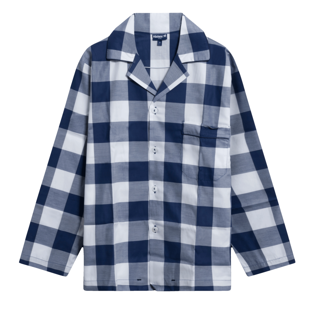 Hästens Blue Check Pyjama Set