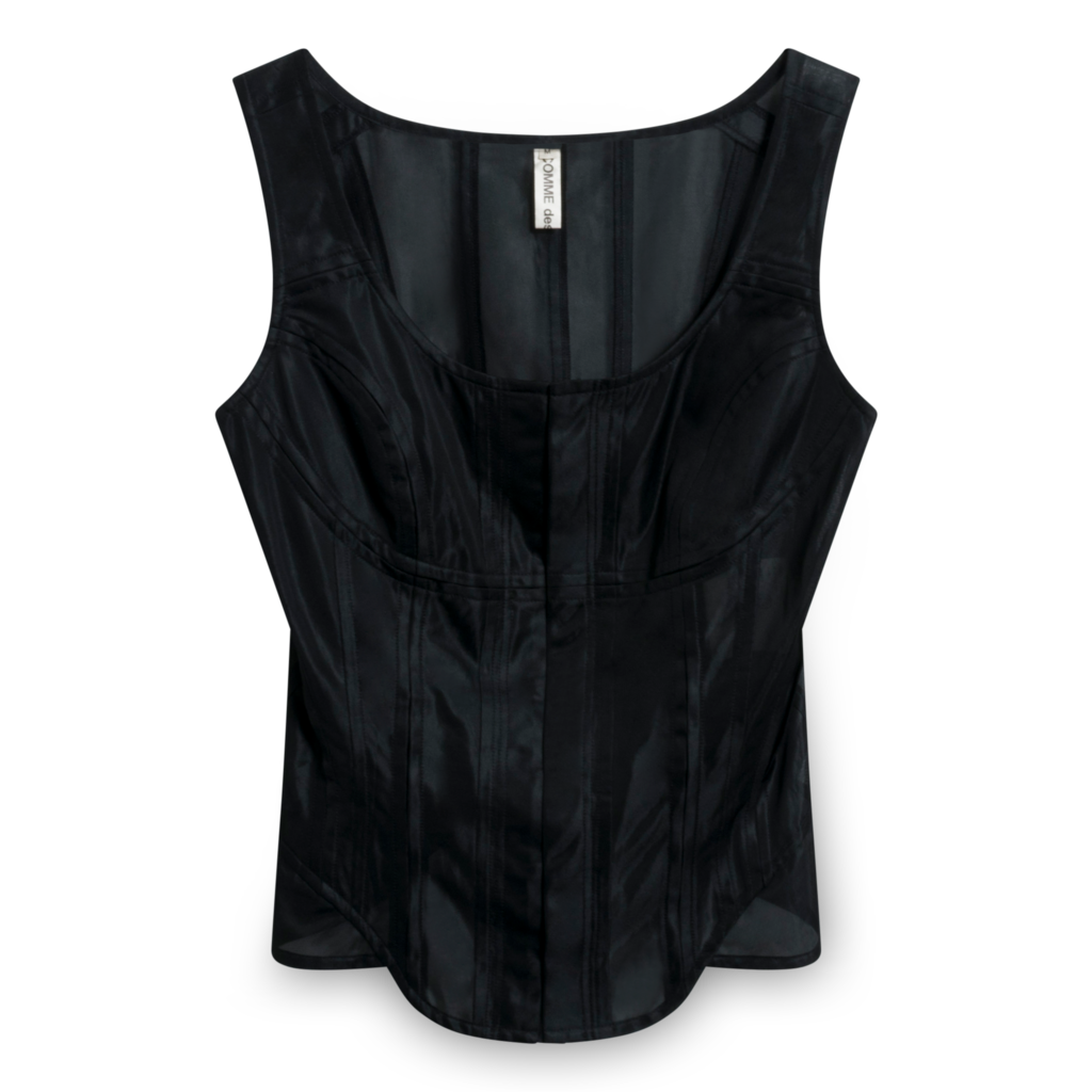 Commes des Garcons Sheer Bustier Top
