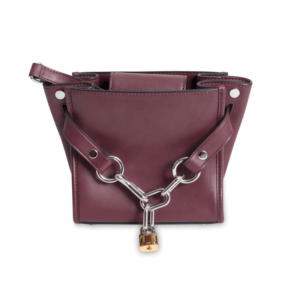Alexander Wang Attica Chain Bag - Burgundy