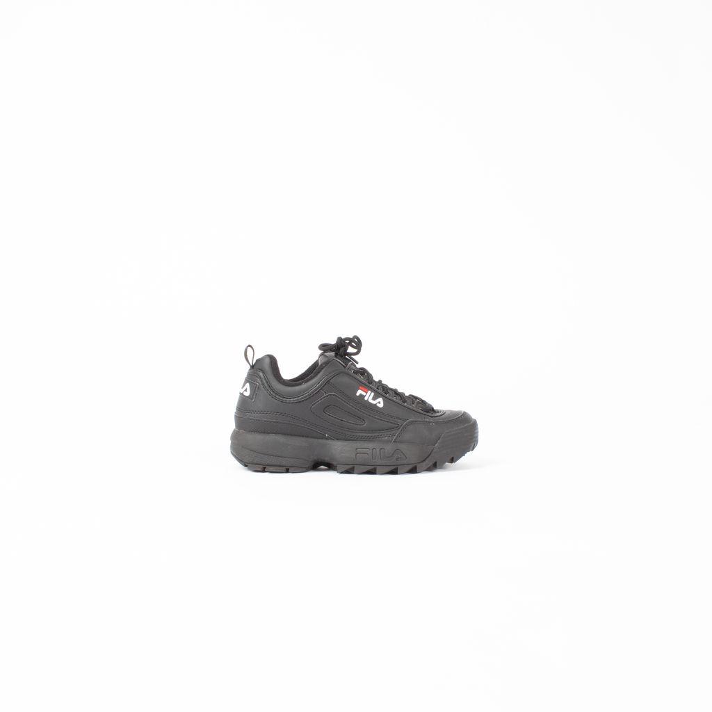 FILA Disruptor II Sneakers in Core Black