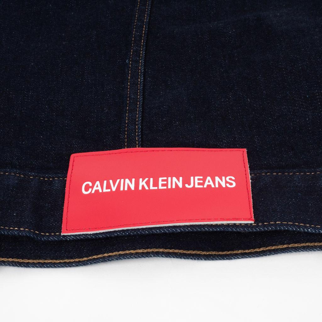 Calvin Klein Jeans Embroidered Back Denim Jacket