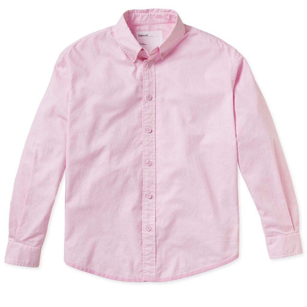 Entireworld Organic Cotton Oxford Shirt - Pink
