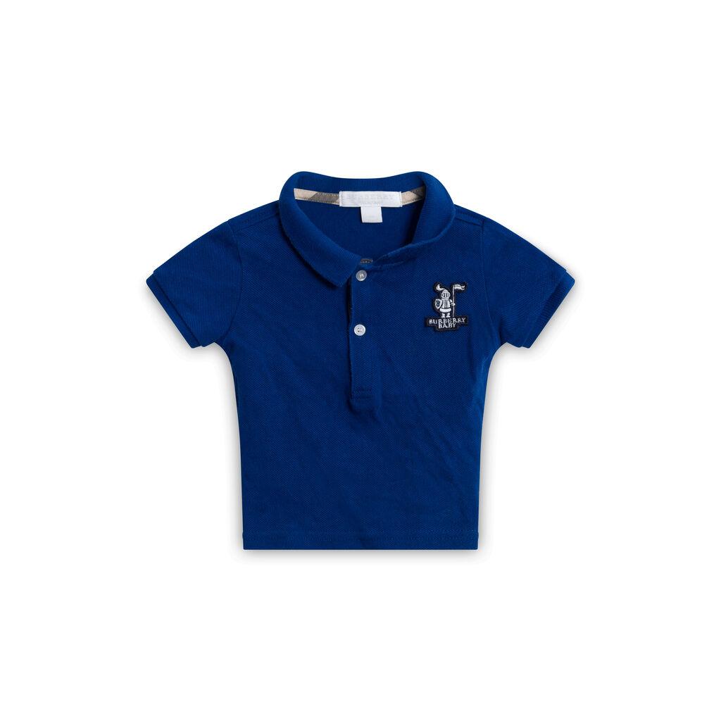 Burberry Blue Polo Shirt