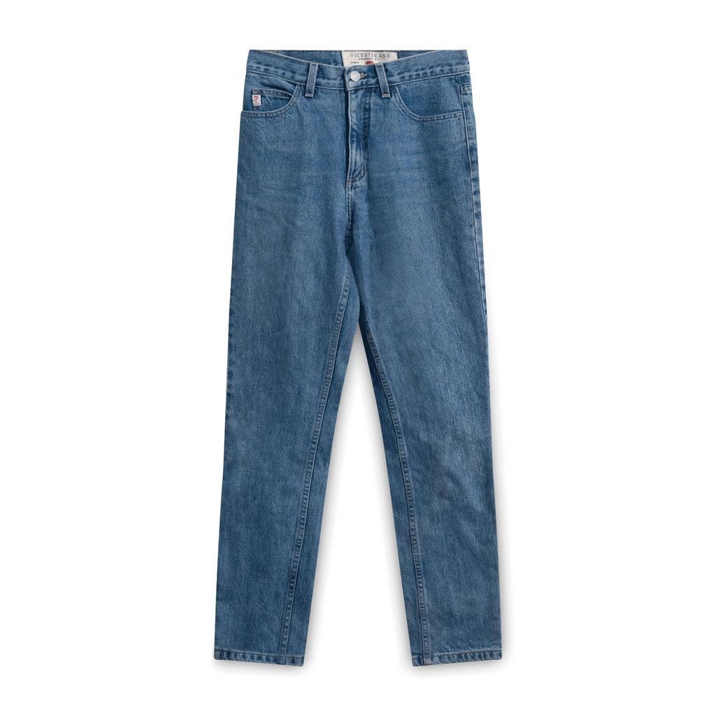 Guess 050 Original Fit Narrow Leg Jeans-Light Blue