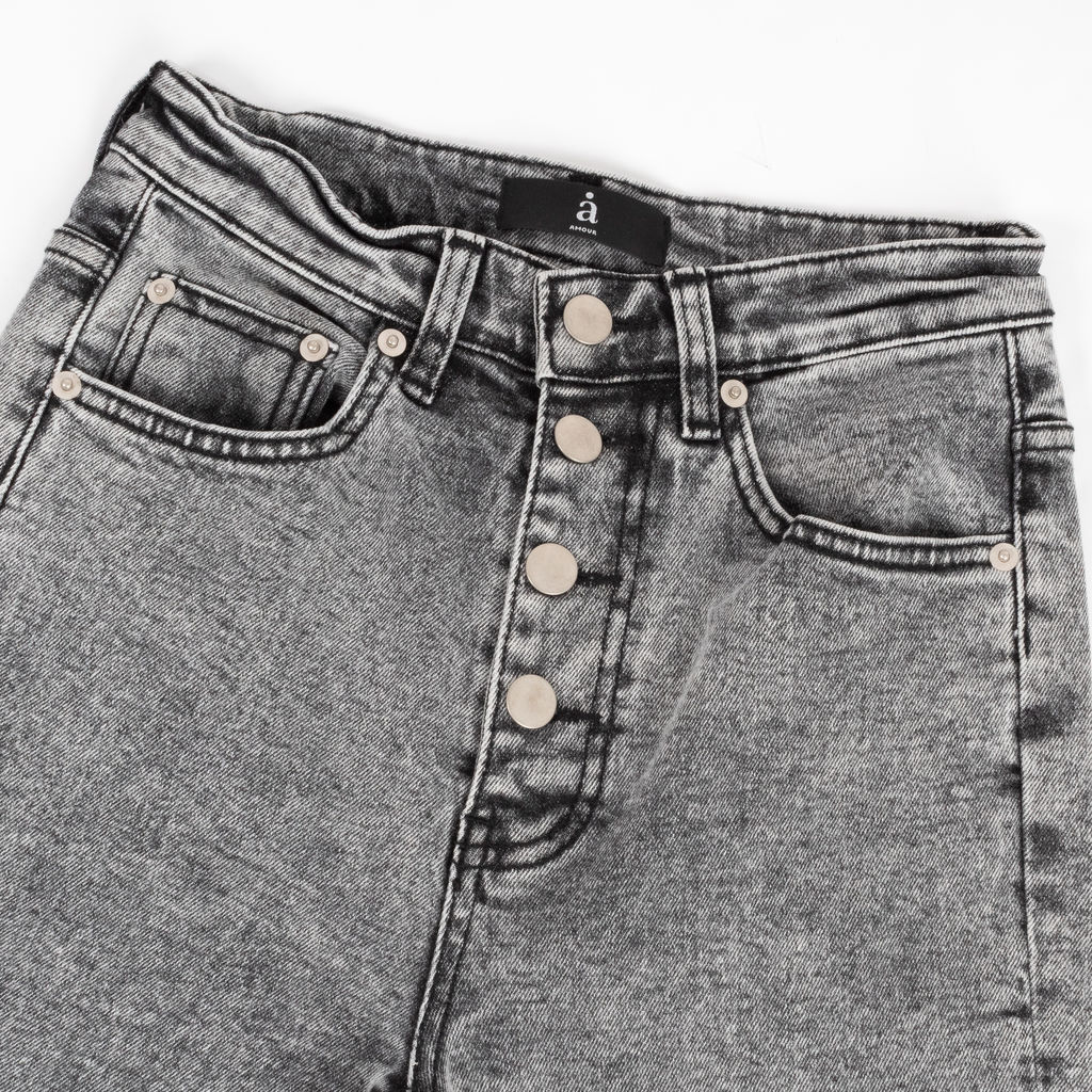 Amour Acid Washed Skinny Jeans