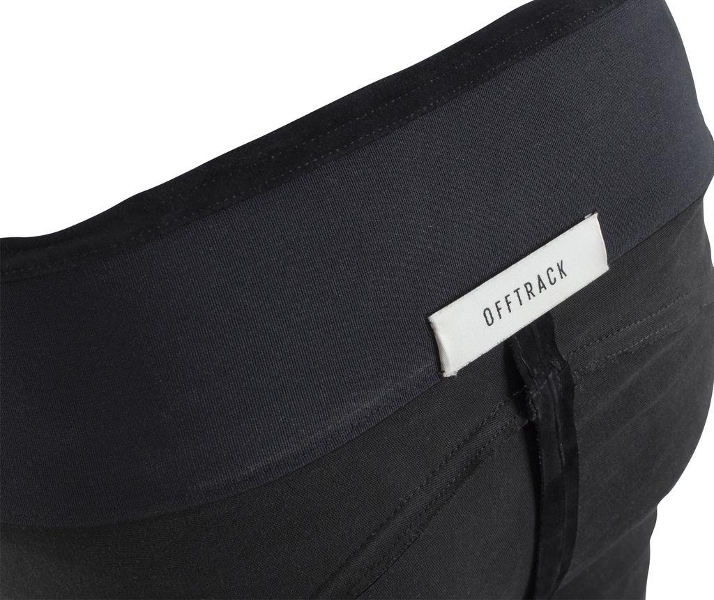 Offtrack Leggings Black Suede