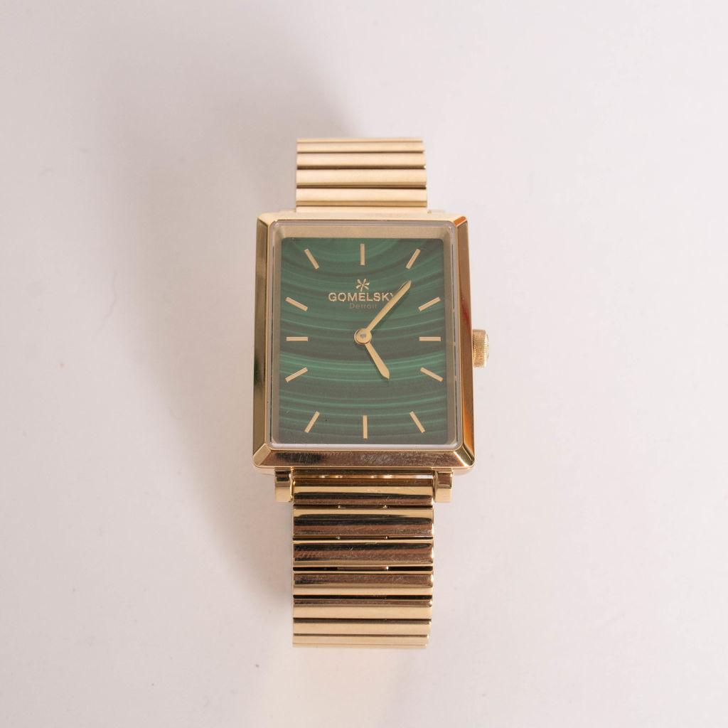 Gomelsky The Shirley Malachite Watch, 32mm x 25mm
