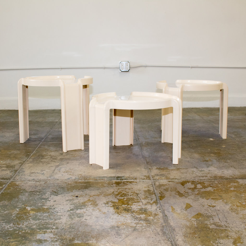 Nesting Tables by Giotto Stoppino for Kartell