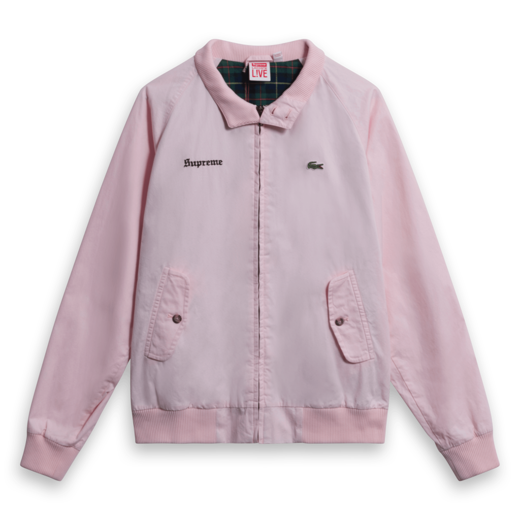 Lacoste x Supreme Harrington Jacket