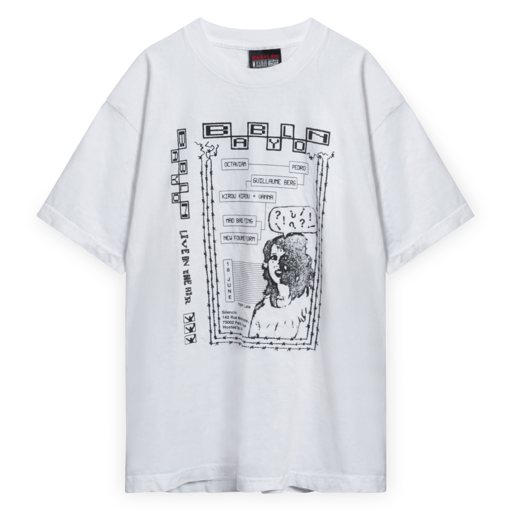 Babylon LA Live On The Air Graphic T-Shirt