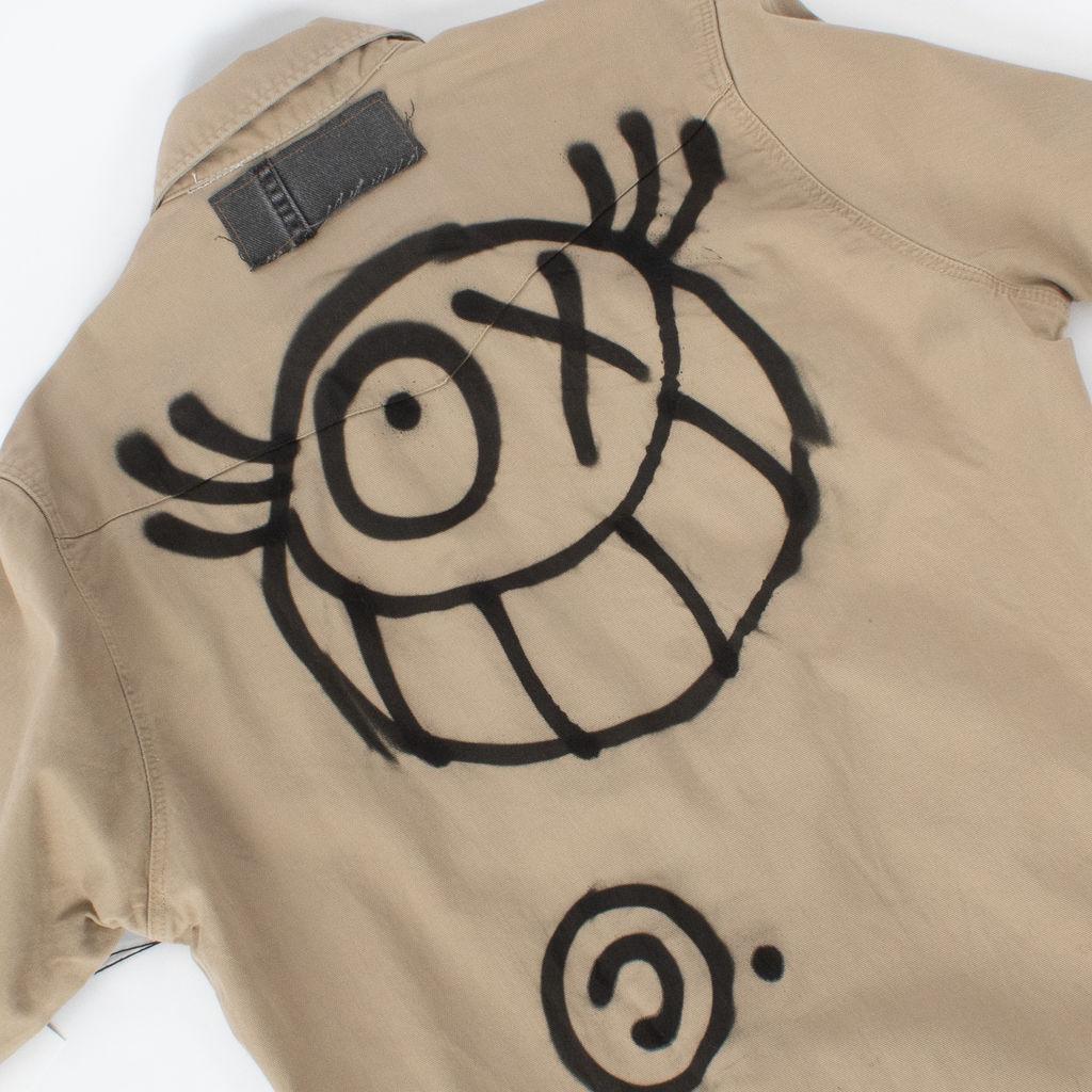 Sami Miro Vintage x André Saraiva Exclusive Wrangler Overshirt - Custom One of One