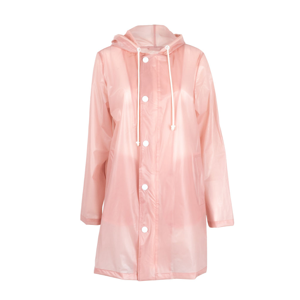 Mother Semi Transparent Raincoat