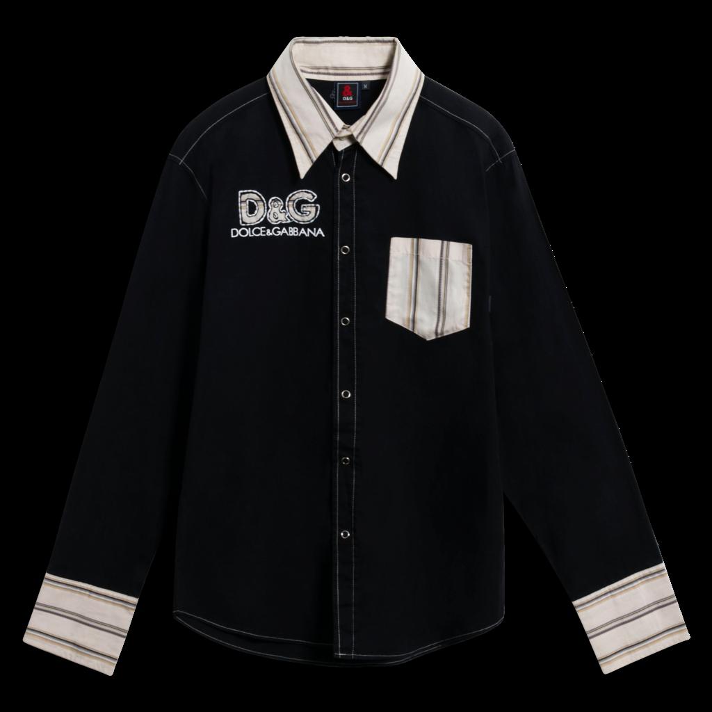 D&G Snap-Button Down Shirt