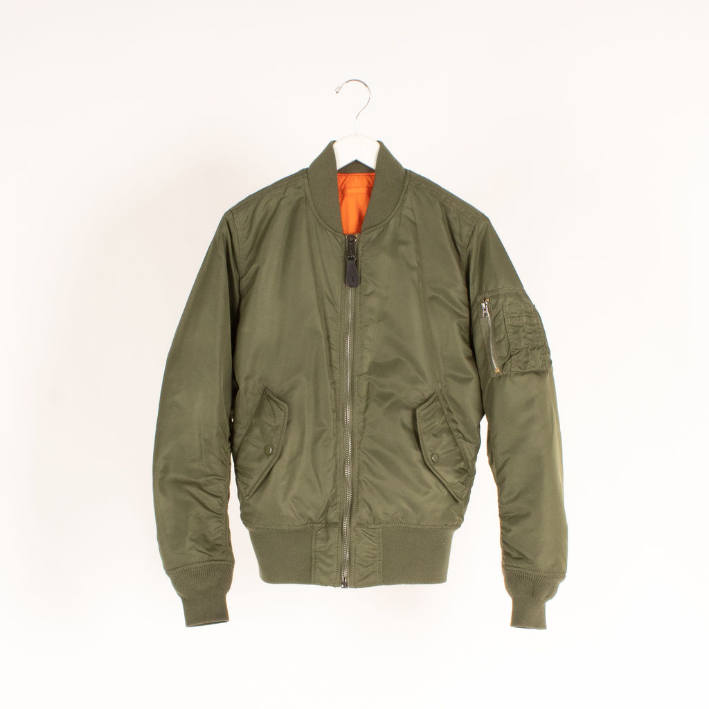 Alpha Industries MA-1 Flight Jacket in Olive