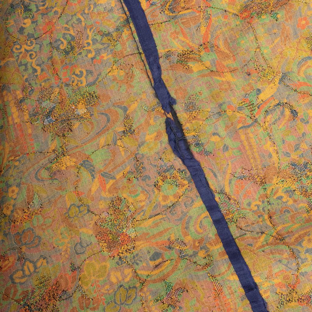 Floral and Patchwork Printed Yukata