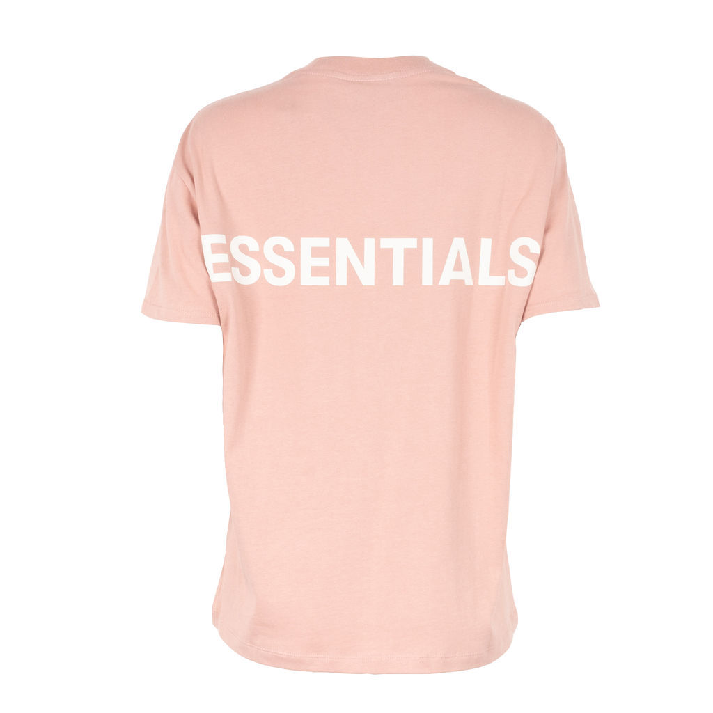 Fear of God Essentials Boxy T-Shirt in Dusty Pink