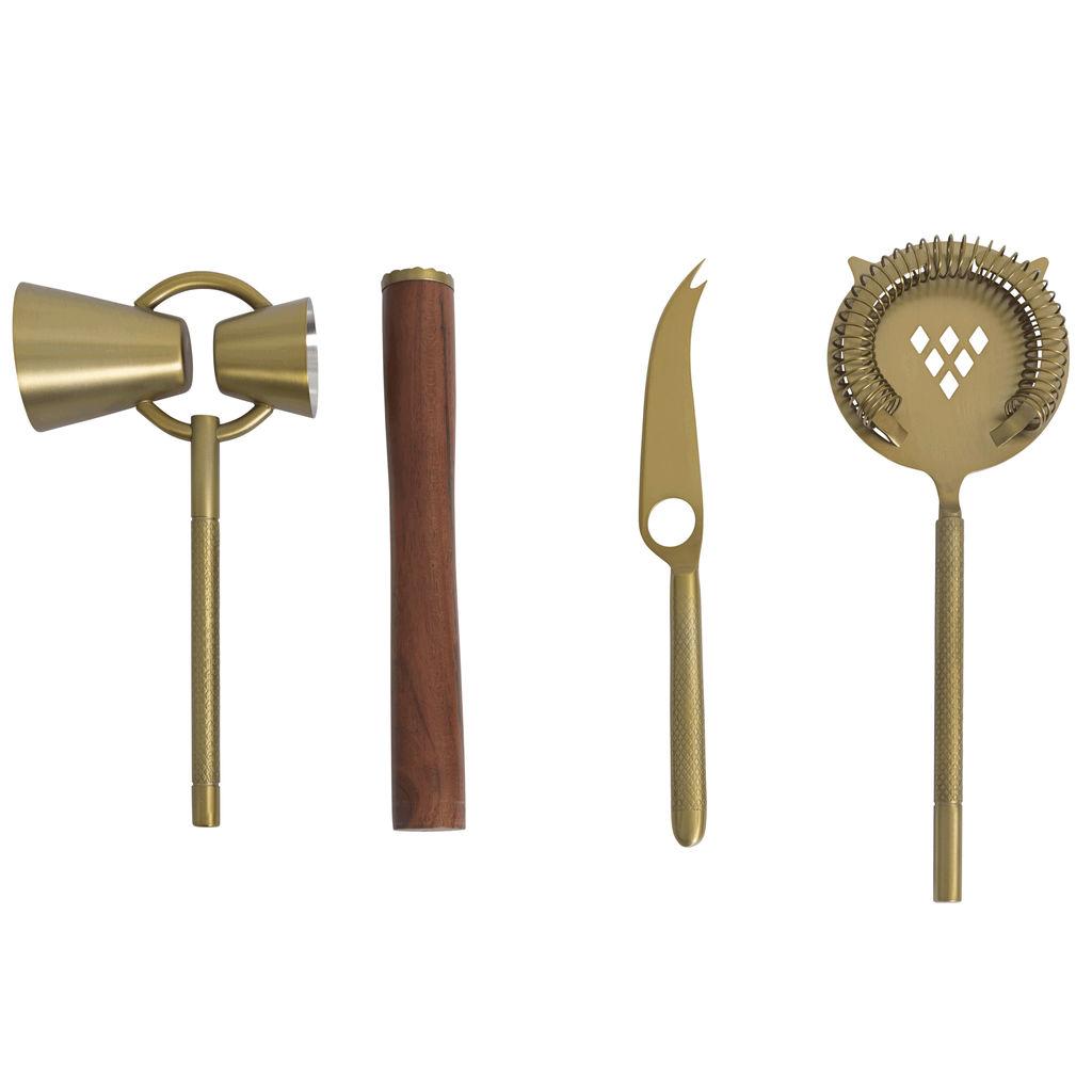 Frye + Crate&Barrel Bar Tools