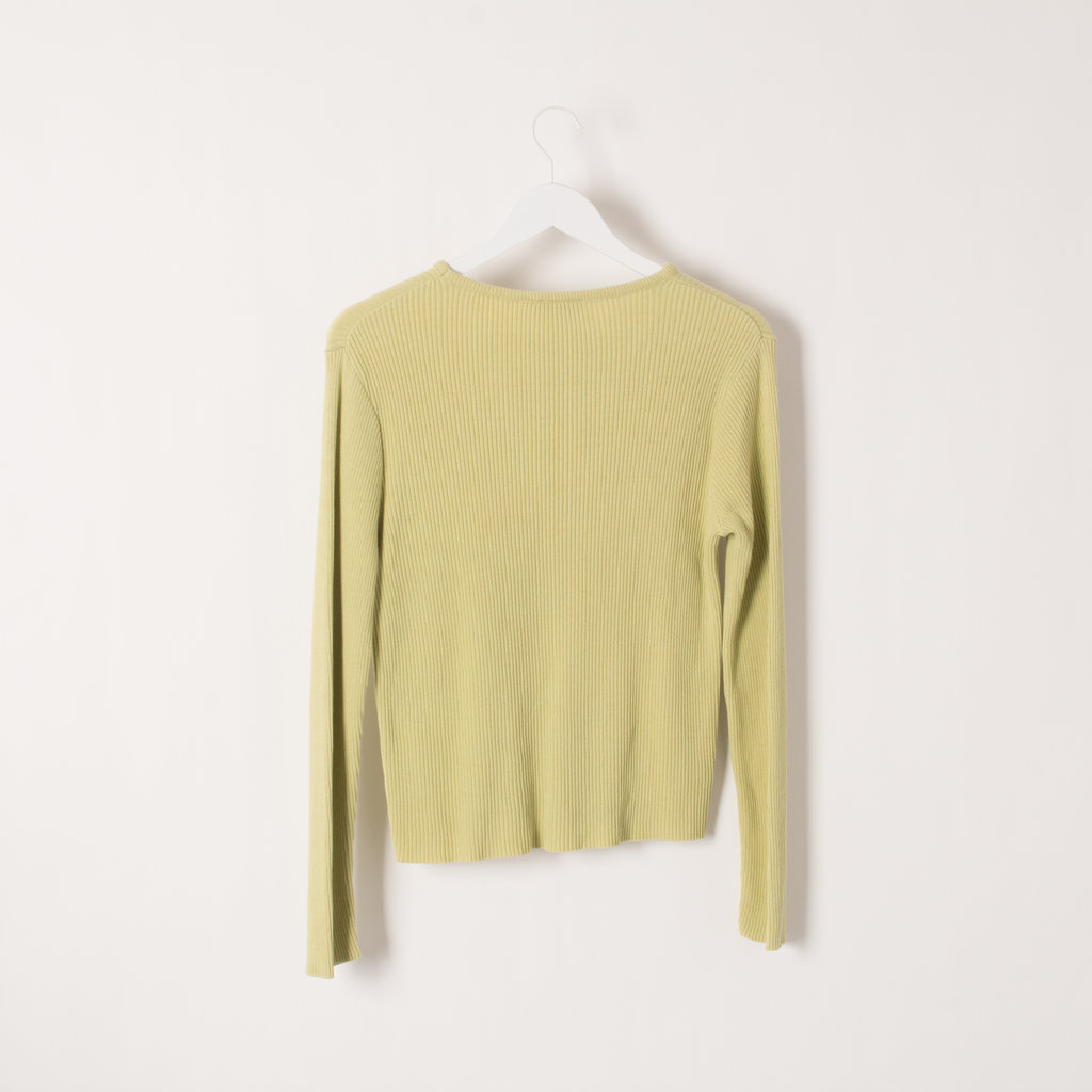 Pierre Cardin Ribbed Cotton Sweater