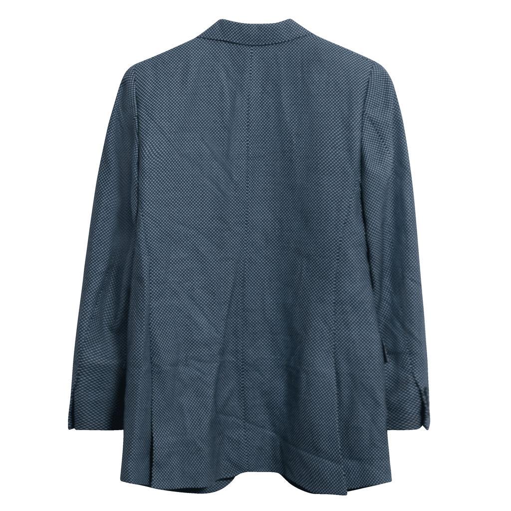 Vintage Chloé Polka-Dot Blazer in Blue