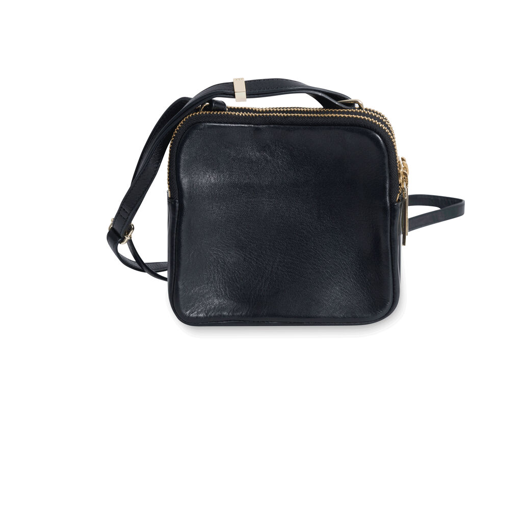 A.L.C Paloma Crossbody Bag with Triangular Pocket - Black