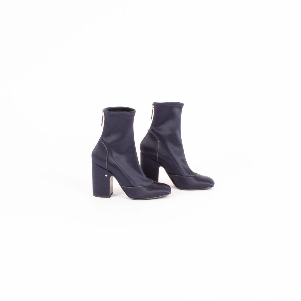 Laurence Dacade Melody Stretch Satin Boots
