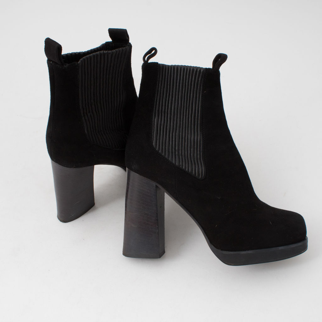 Acne Flaire Suede ankle boots
