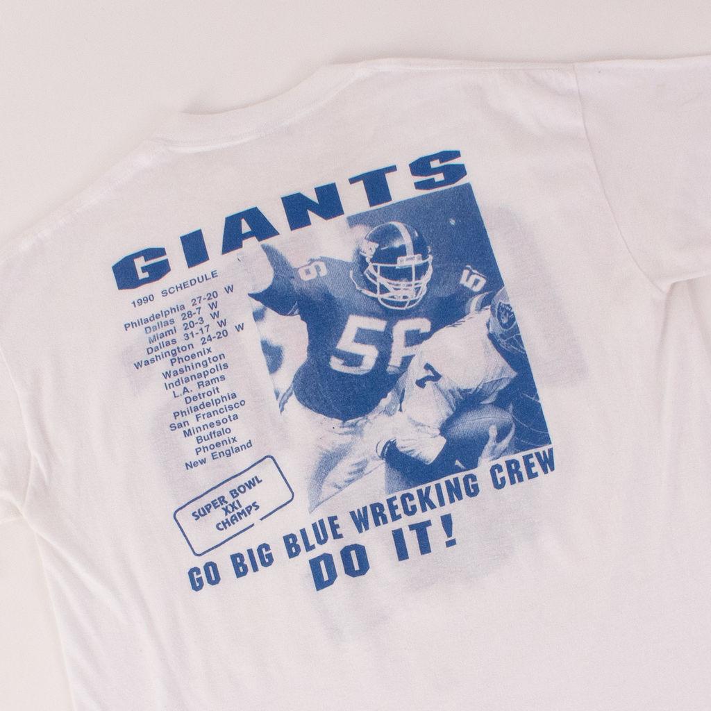 Vintage NY Giants x KITH Tee