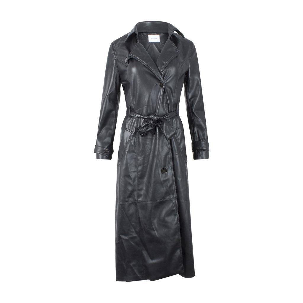 Nanushka Chiara Vegan Leather Trench Coat