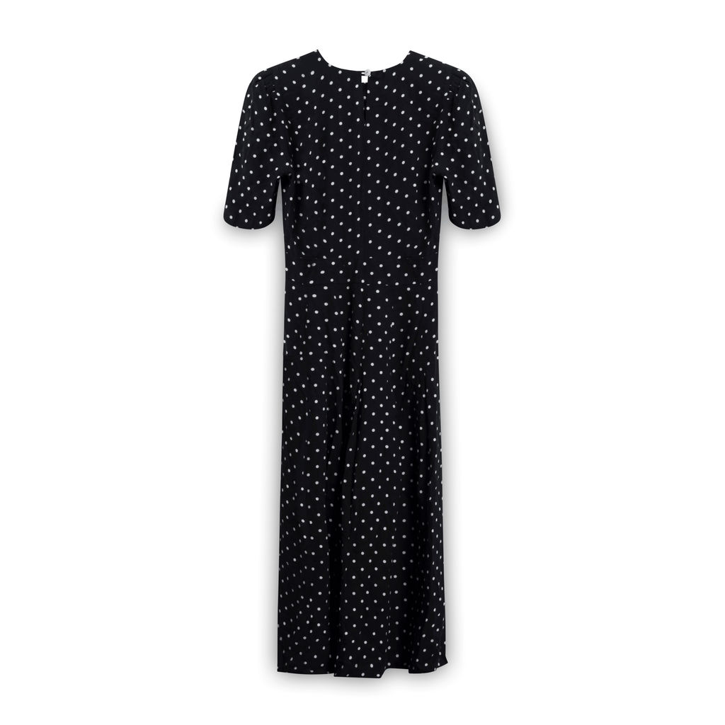 Jane Singer Polk-a-Dot Dress