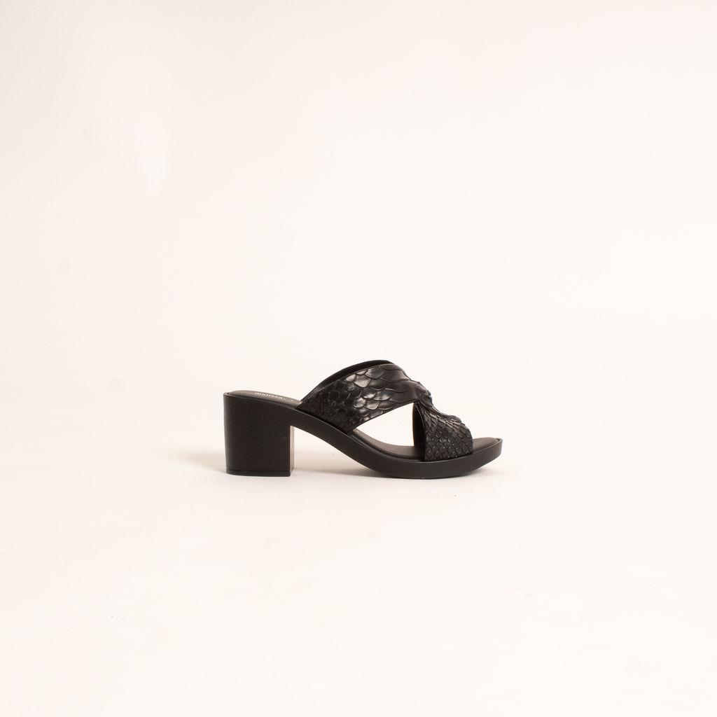 Melissa x Baja East Python Heel
