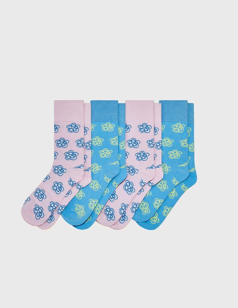 KROST x Barneys Floral Icon Socks (2-Pck)