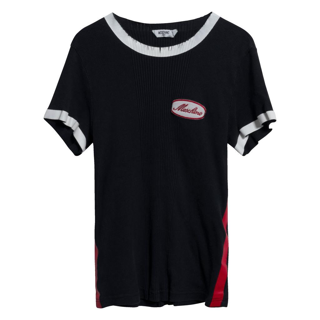 Moschino Jeans Uomo Rib Knit Top