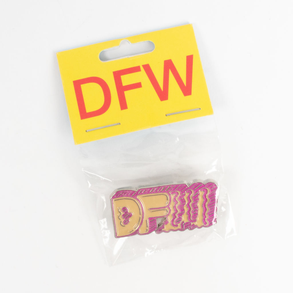 Slow Culture DFW Pin