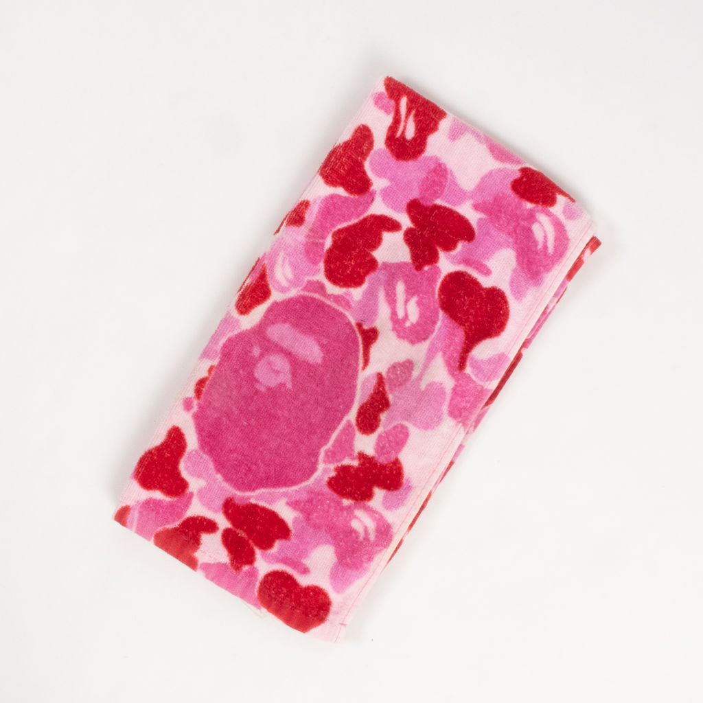 BAPE Pink Camo Sports Towel