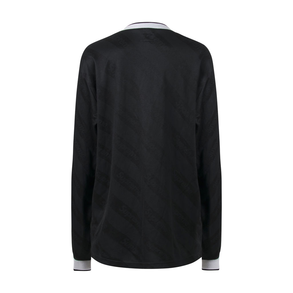 Supreme Diagonal Logo Long Sleeve Jersey