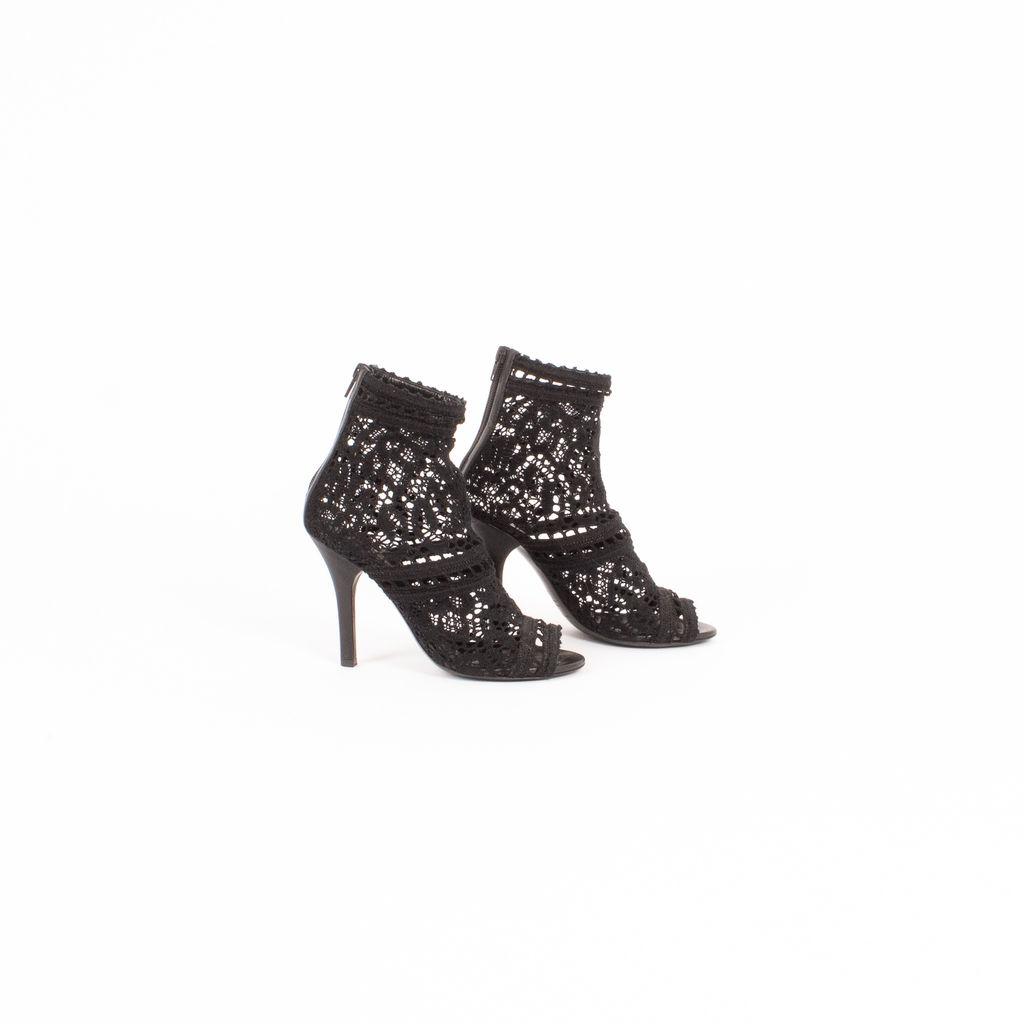 Dolce & Gabbana Lace Overlay Heels