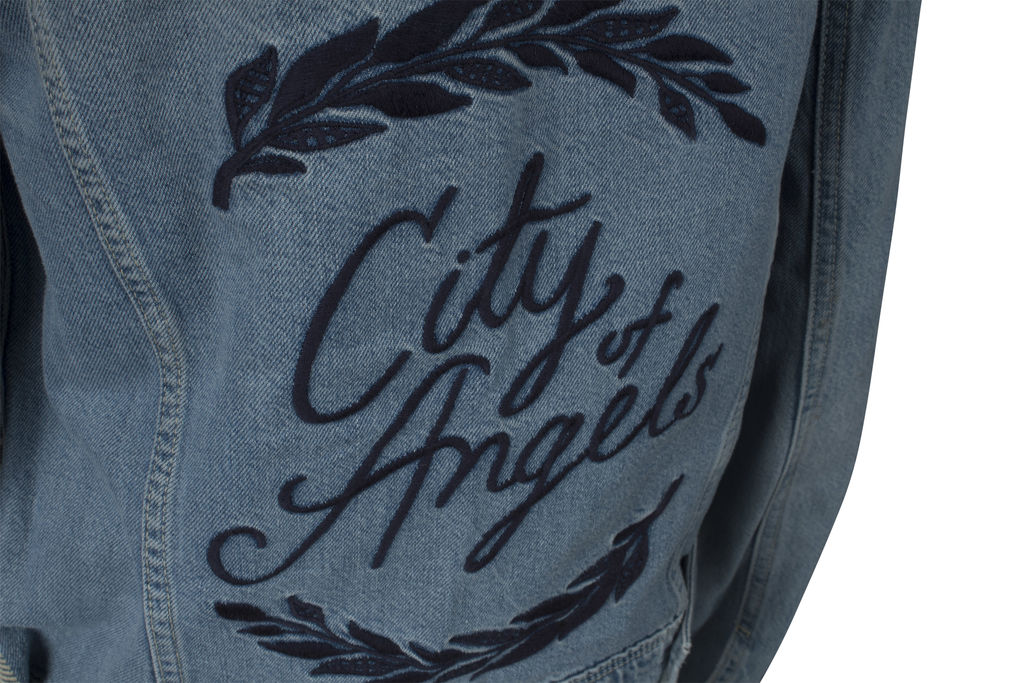 Paige Denim 'City of Angels' Embroidered Jacket