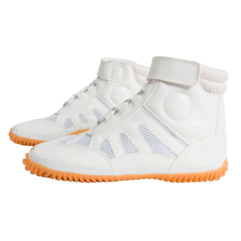 Tabi Sneakers - White/Orange
