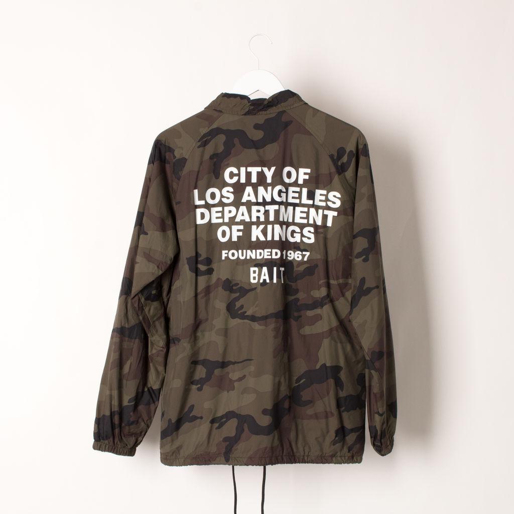 BAIT Coach's Jacket Camo curated by Samii Ryan