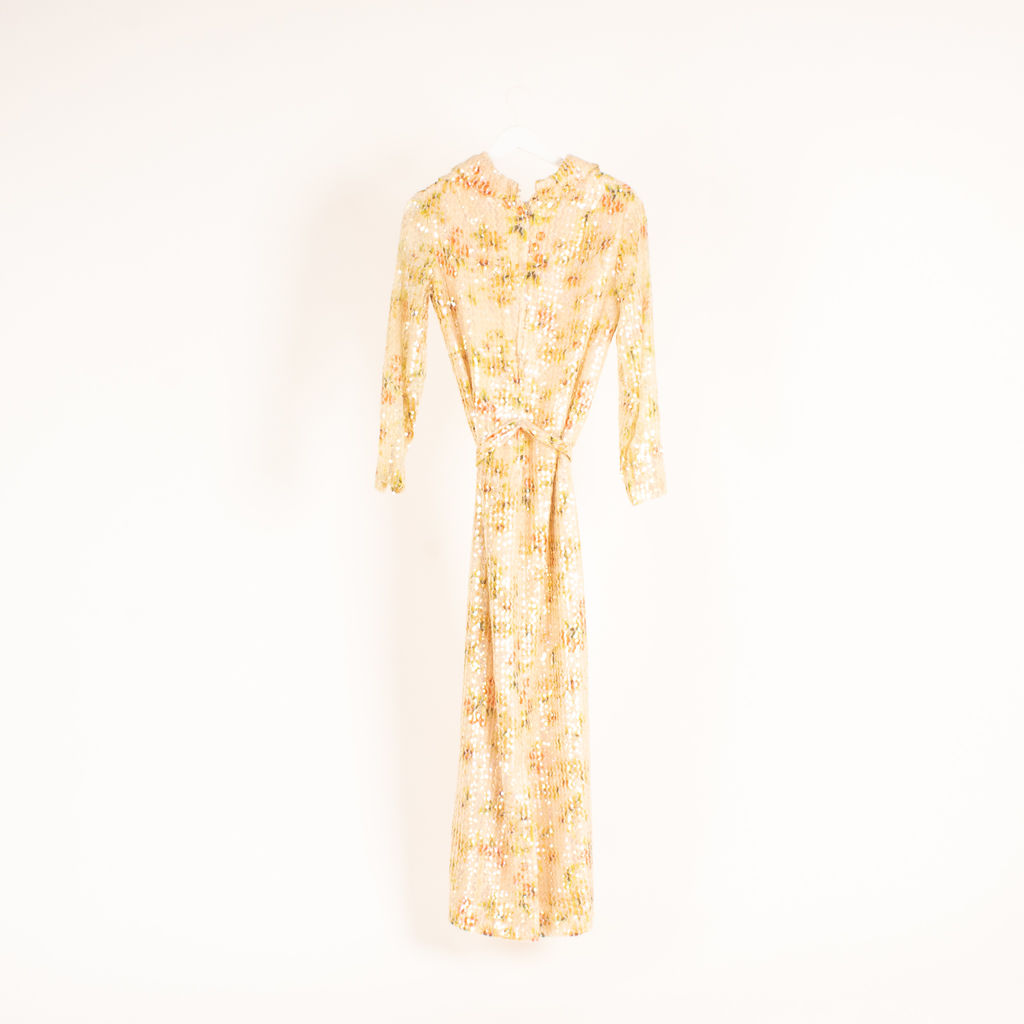 Lee Jones Sequin Embellished Maxi Dress