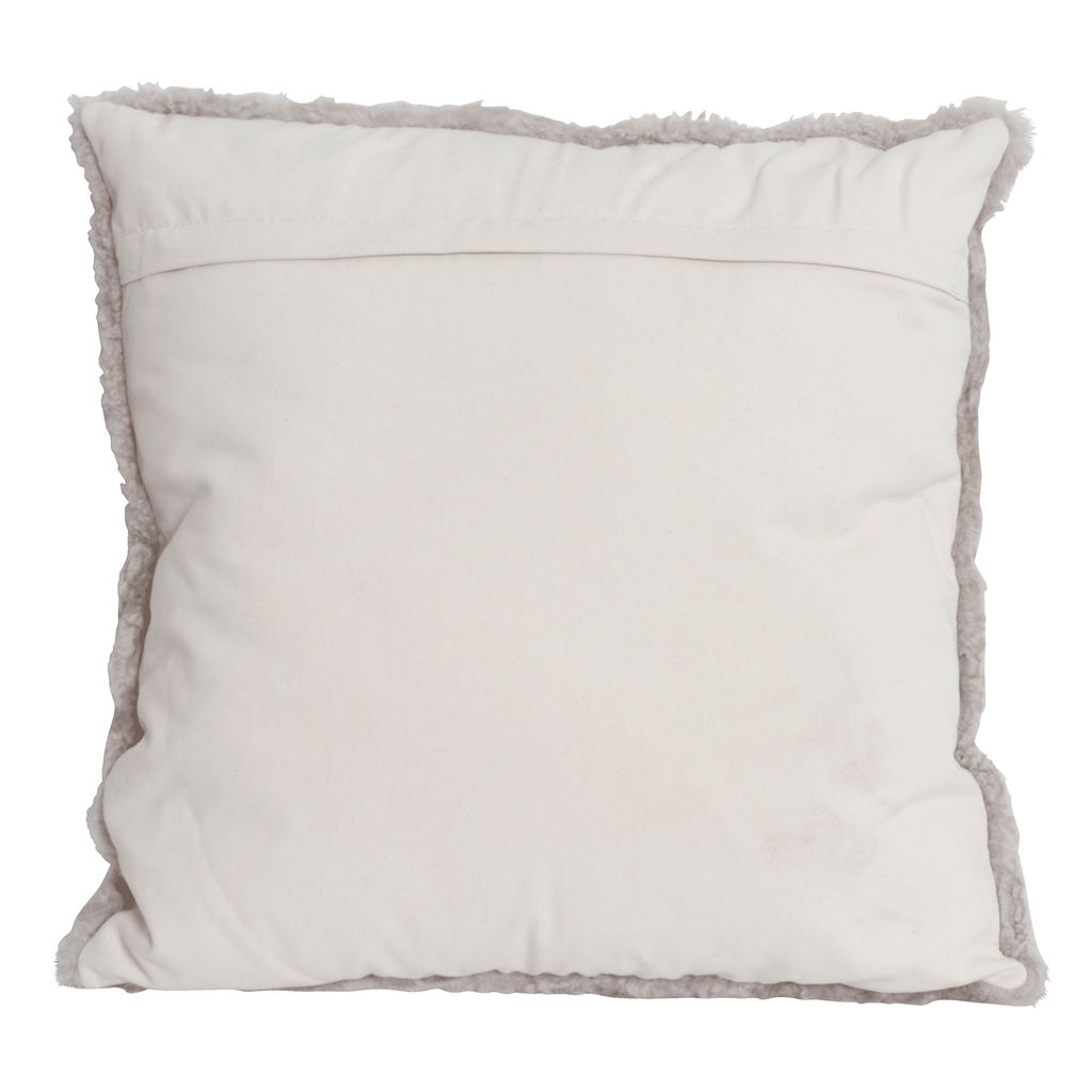 "Andreo 20"" Mushroom Pillow with Down-Alternative Insert"