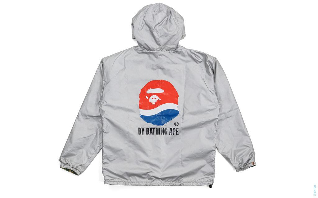 ABC Camo Apehead Classic Logo Reversible Windbreaker Jacket